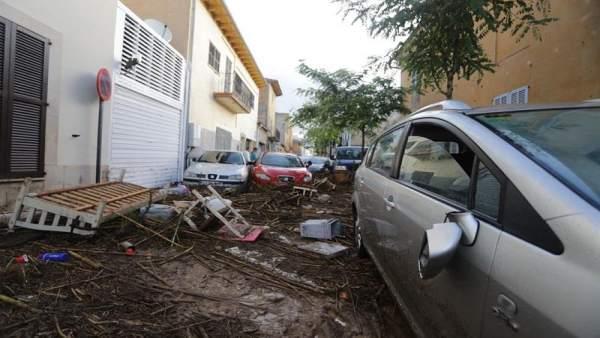 Imagen de las inundaciones el pasado octubre