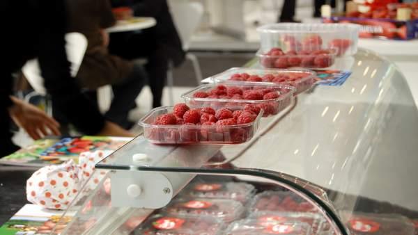 Frutos Rojos De Huelva En Fruil Logística.
