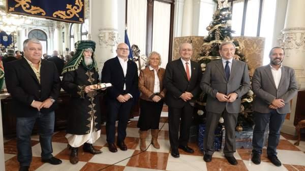 Recepción a los representantes de los Reyes Magos 2019