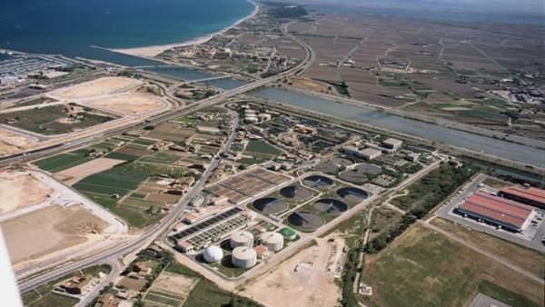 La Generalitat licita per 86 milions el sanejament i depuració d'aigües residuals de Pinedo