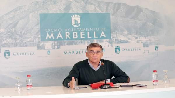 El edil de Marbella Javier García