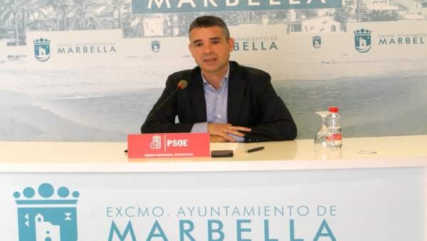 José Bernal en rueda de prensa