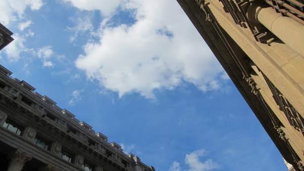 Este jueves, intervalos de sol y nubes