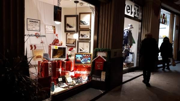 Imagen de un comercio de Bilbao