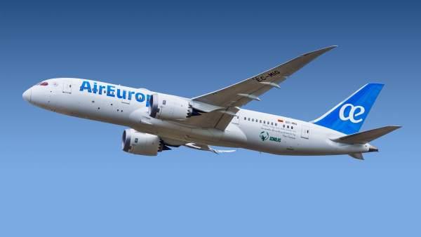 Avion Boeing m787-800 de Air Europa
