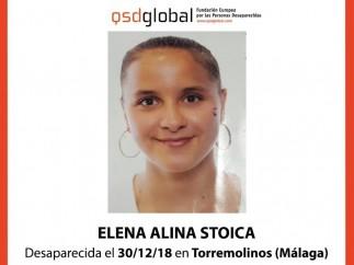 Imagen de la menor desaparecida en Torremolinos (Málaga)