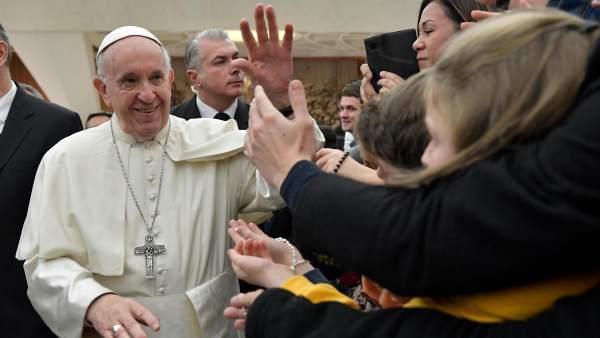 Audiencia general del Papa