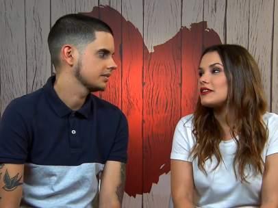 Luis y Esther, en 'First Dates'.