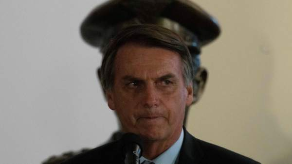 Bolsonaro, en la toma de posesión de su ministro de Defensa