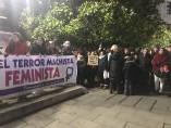 Concentración en Santander contra asesinato machista de Laredo