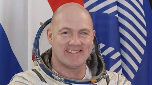 El astronauta Andre Kuipers