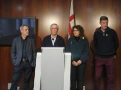 Jordi Coronas, Xavier Trias, Montse Benedi y Jordi Martí.