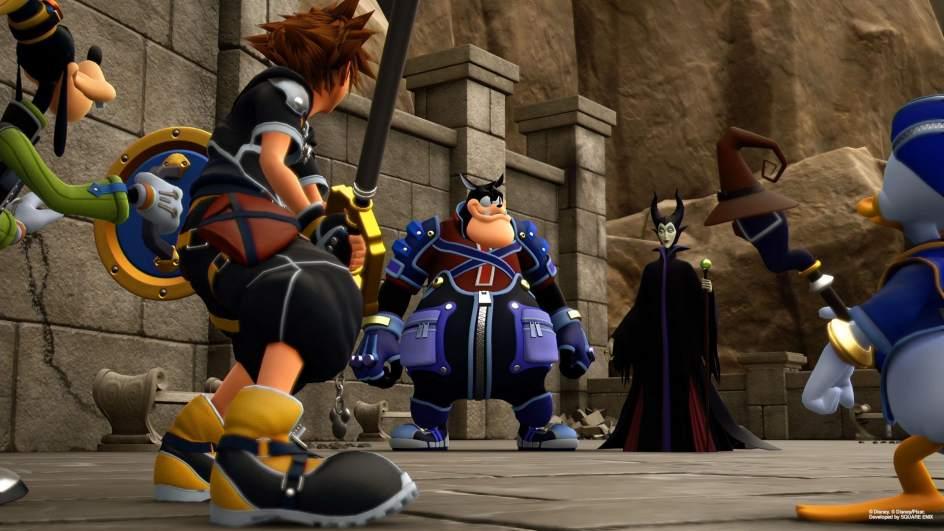 Kingdom Hearts 3. Por fin verá la luz el próximo 29 de enero y llegará para Playstation 4 y Xbox One. El juego contará la tercera aventura de Sora que irá acompañado por Donald y Goofy a través de distintos mundos basados en películas clásicas de Disney.
