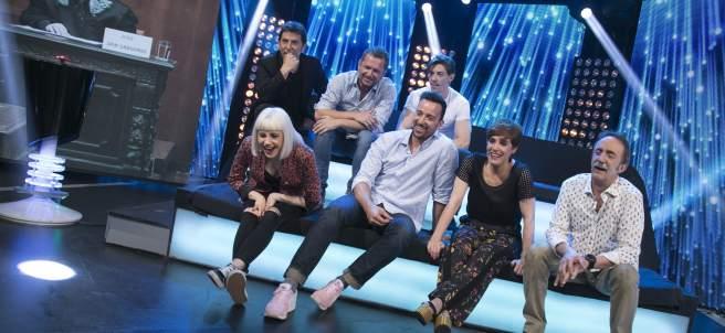 Los participantes de 'Hipnotízame'.