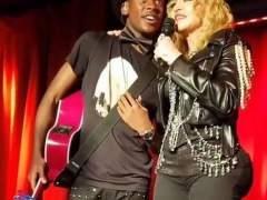 Madonna, en Año Nuevo