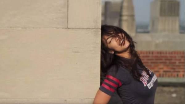 Ocasio-Cortez, en un momento del vídeo