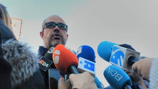 El conseller de Interior de la Generalitat, Miquel Buch.