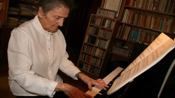 La compositora riojana María Dolores Malumbres fallece en Logroño
