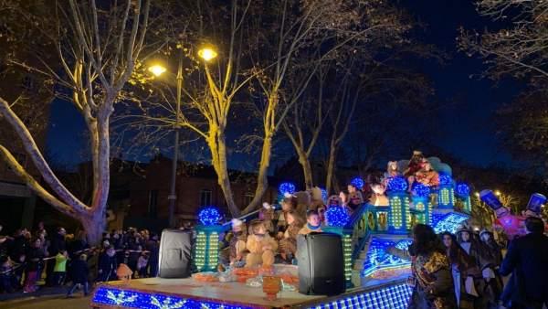 Cabalgata de Reyes en Valladolid