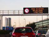 Límites de velocidad en Madrid