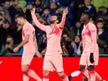 Messi marca al Getafe