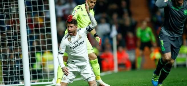 El capitán del Real Madrid, Sergio Ramos