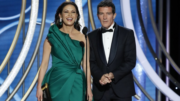Catherine Zeta-Jones y Antonio Banderas