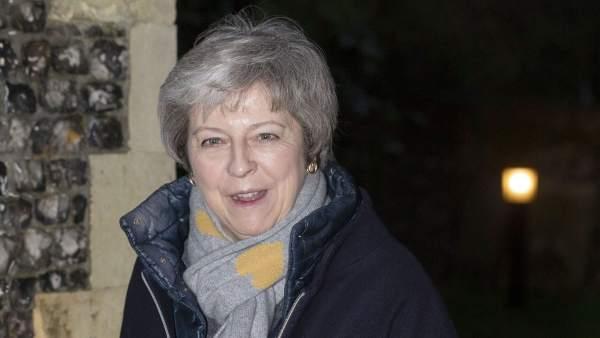 La primera ministra del Reino Unido Theresa May
