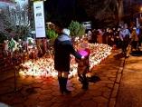 Memorial por las víctimas del 'scape room'