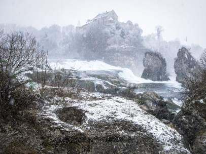 Nieve en Suiza