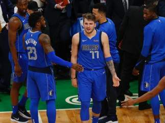 Luka Doncic, con Dallas Mavericks.
