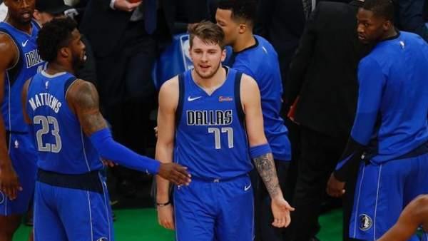 Luka Doncic, con Dallas Mavericks.