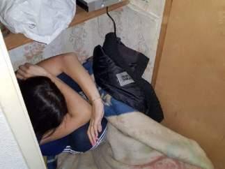 Detenido en Murcia por agredir a su mujer, que se refugió en un armario.