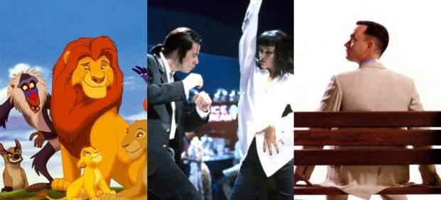 El rey león, Pulp Fiction y Forrest Gump