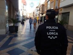 FOTO ARCHIVO POLICÍA LOCAL LORCA