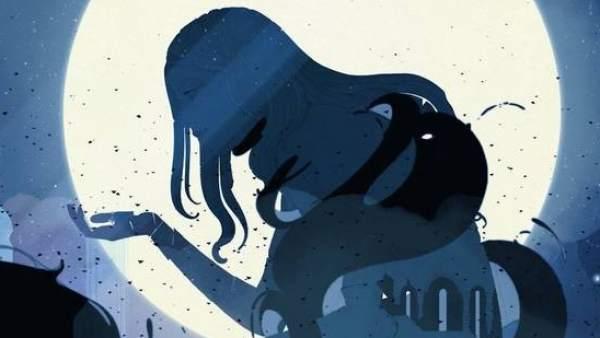 Imagen censurada por Facebook del videojuego 'Gris'