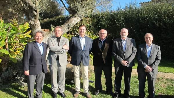 Foto de grupo de la última reunión de los miembros del GiG