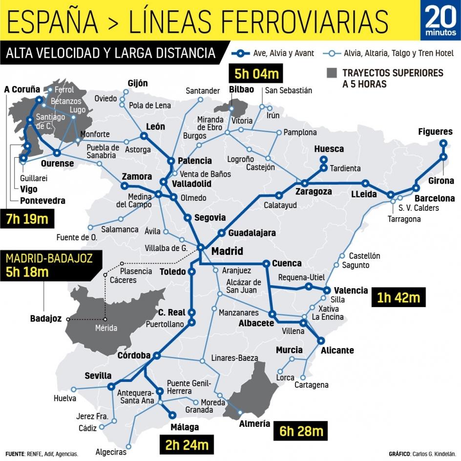 Mapa Ave España 2019.Pdf Camp Web De La Plataforma Per La Defensa D Un