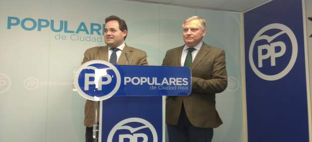 Paco Núñez y Francisco Cañizares, PP en Ciudad Real