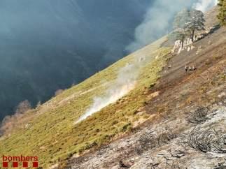 Incendio De Artíes (Lleida)