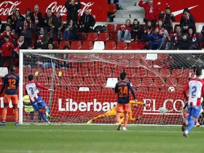 Gol del Sporting