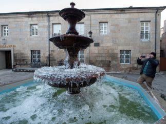 Fuente congelada