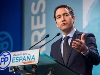 El secretario general del PP García Egea