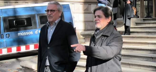 Oriol Pujol Y Su Abogado Xavier Melero