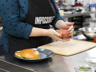 Una hamburguesa debuta en el CES