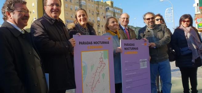 Las paradas antiacoso en Sevilla