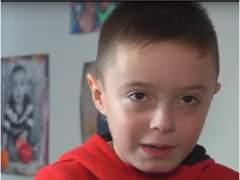 Daniel, el niño de 8 años enfermo de leucemia