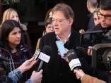 Puig atén als periodistes a Morella