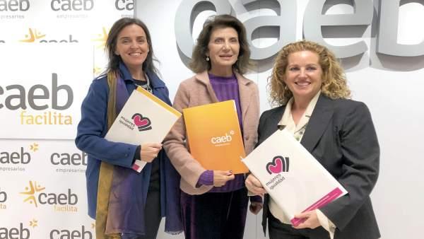 Presentación del acuerdo entre CAEB y Mujeres en Igualdad