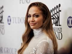 Jennifer Lopez en la alfombra roja